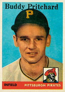 1958 Topps Buddy Pritchard #151 Baseball Card