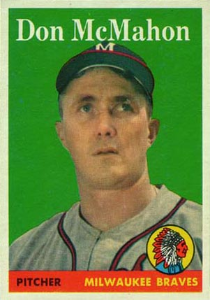 1958 Topps Don McMahon #147 Baseball Card