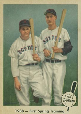 1959 Fleer Ted Williams 1938- First Spring Training #11 Baseball Card