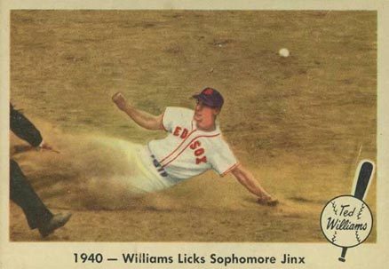 1959 Fleer Ted Williams Ted Williams #15 Baseball Card