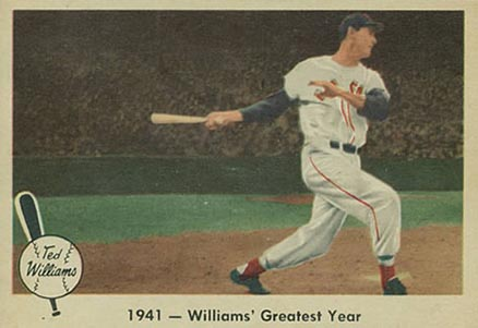 1959 Fleer Ted Williams Ted Williams #16 Baseball Card