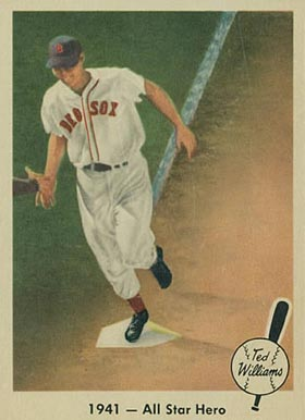 1959 Fleer Ted Williams Ted Williams #18 Baseball Card