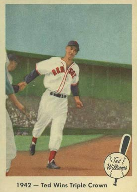 1959 Fleer Ted Williams Ted Williams #19 Baseball Card