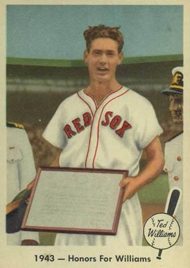 1959 Fleer Ted Williams Ted Williams #21 Baseball Card