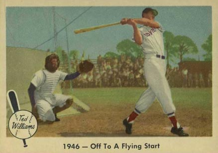 1959 Fleer Ted Williams Ted Williams #26 Baseball Card