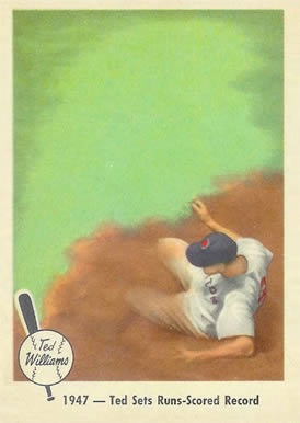 1959 Fleer Ted Williams Ted Williams #34 Baseball Card