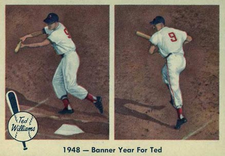 1959 Fleer Ted Williams Ted Williams #36 Baseball Card