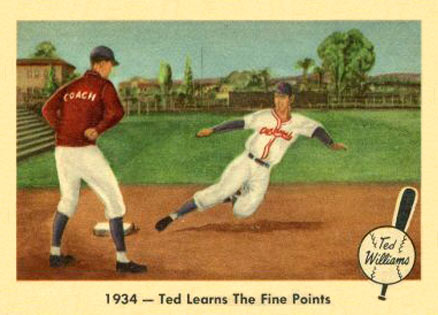1959 Fleer Ted Williams Baseball Card Set Vcp Price Guide