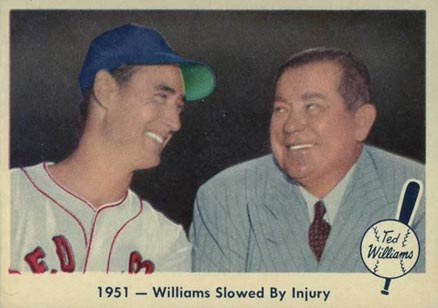 1959 Fleer Ted Williams Ted Williams #42 Baseball Card