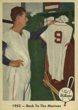 1959 Fleer Ted Williams Ted Williams #44 Baseball Card