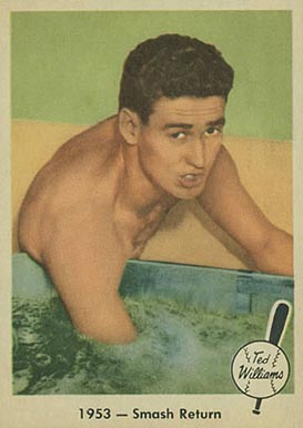 1959 Fleer Ted Williams Ted Williams #49 Baseball Card