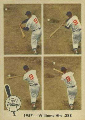 1959 Fleer Ted Williams Ted Williams #58 Baseball Card
