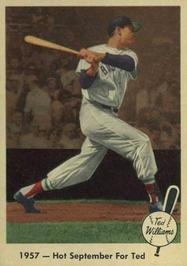 1959 Fleer Ted Williams Ted Williams #59 Baseball Card