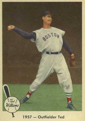 1959 Fleer Ted Williams Ted Williams 61 Baseball Card Value
