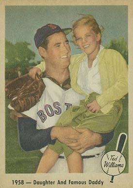 1959 Fleer Ted Williams 1958- Daughter And Famous Daddy #64 Baseball Card