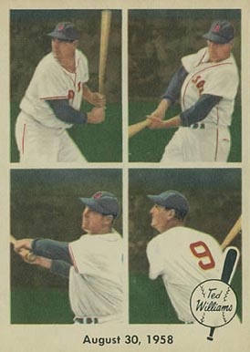 1959 Fleer Ted Williams Ted Williams #65 Baseball Card