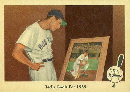 1959 Fleer Ted Williams Ted Williams #80 Baseball Card