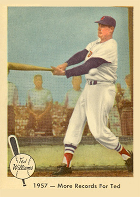 1959 Fleer Ted Williams Ted Williams #60 Baseball Card