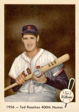 1959 Fleer Ted Williams Ted Williams #57 Baseball Card