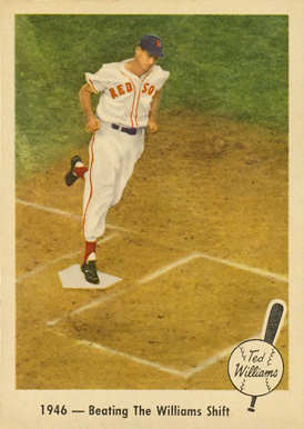 1959 Fleer Ted Williams 1946- Beating The Williams Shift #30 Baseball Card