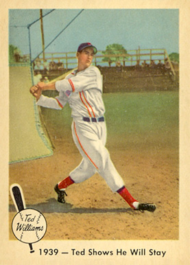 1959 Fleer Ted Williams Ted Williams #13 Baseball Card