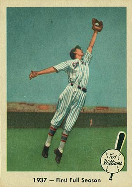 1959 Fleer Ted Williams Ted Williams #8 Baseball Card