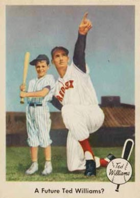 1959 Fleer Ted Williams Ted Williams #69 Baseball Card