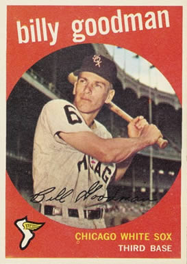 1959 Topps Billy Goodman #103 Baseball Card
