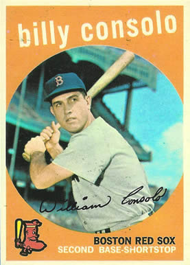 1959 Topps Billy Consolo #112 Baseball Card