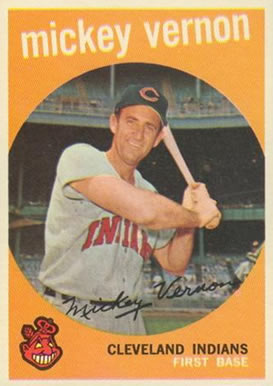 1959 Topps Mickey Vernon #115 Baseball Card
