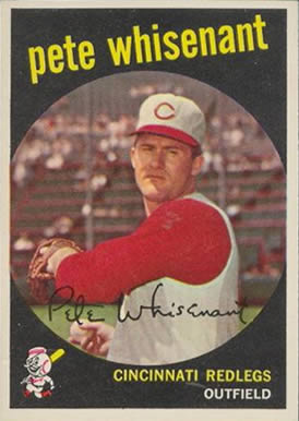 1959 Topps Pete Whisenant #14 Baseball Card