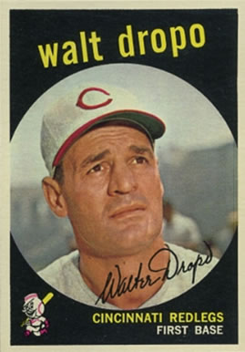 1959 Topps Walt Dropo #158 Baseball Card