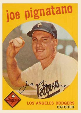1959 Topps Joe Pignatano #16 Baseball Card