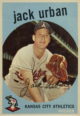 1959 Topps Jack Urban #18 Baseball Card