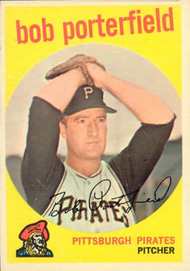 1959 Topps Bob Porterfield #181 Baseball Card