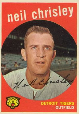 1959 Topps Neil Chrisley #189 Baseball Card