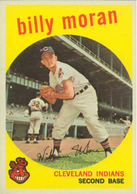 1959 Topps Billy Moran #196 Baseball Card