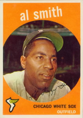 1959 Topps Al Smith #22 Baseball Card