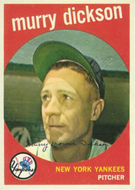 1959 Topps Murry Dickson #23 Baseball Card