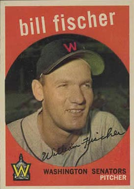 1959 Topps William Fischer #230 Baseball Card