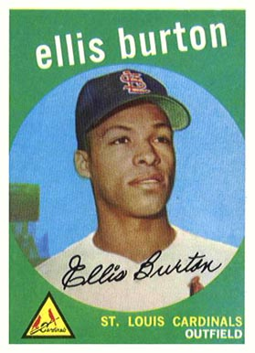 1959 Topps Ellis Burton #231 Baseball Card