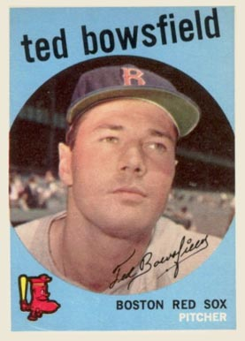 1959 Topps Ted Bowsfield #236 Baseball Card