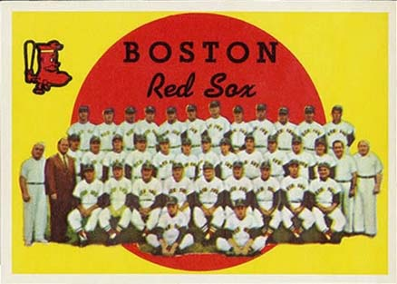 1959 Topps Boston Red Sox Team #248 Baseball Card