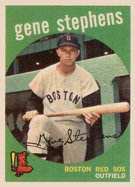 1959 Topps Gene Stephens #261 Baseball Card