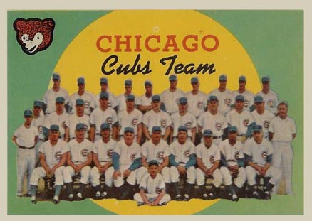 1959 Topps Chicago Cubs #304 Baseball Card