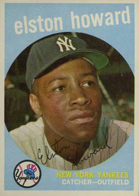 1959 Topps Elston Howard #395 Baseball Card