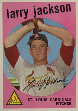 1959 Topps Larry Jackson #399 Baseball Card