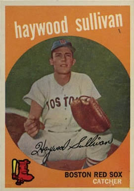 1959 Topps Haywood Sullivan #416-No Cir-A. Baseball Card