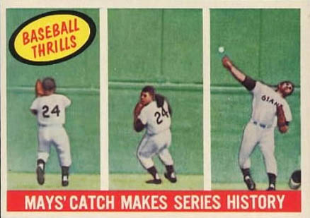 1959 Topps Willie Mays #464 Baseball Card