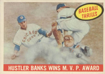 1959 Topps Ernie Banks #469 Baseball Card